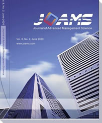 Journal of Advanced Management Science (JOAMS)